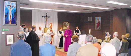 Festgottesdienst im Kloster St. Severin